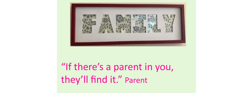if there's a parent in you