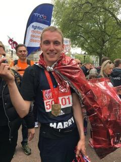London Marathon runner